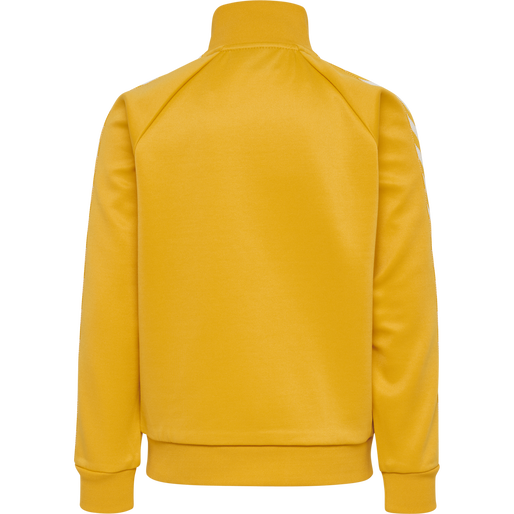 HMLKICK ZIP JACKET, GOLDEN ROD, packshot