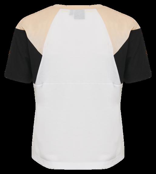 hmlROBIN T-SHIRT S/S, WHITE, packshot