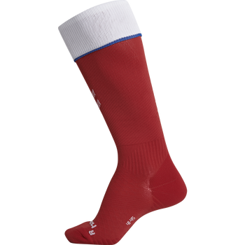 DBU FOOTBALL SOCK 18/19, TANGO RED, packshot