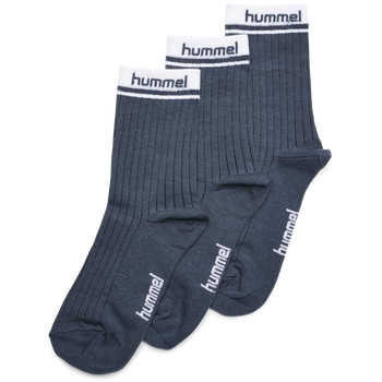 hmlCONI 3-PACK SOCK, BLUE NIGHTS, packshot