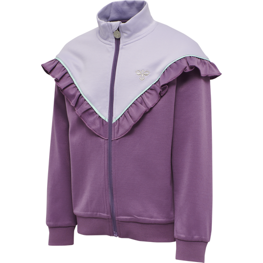 hmlJEWEL ZIP JACKET , CHINESE VIOLET, packshot