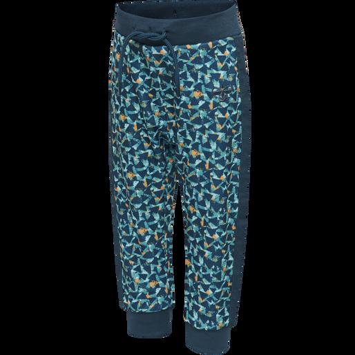hmlERNESTO PANTS, MAJOLICA BLUE, packshot