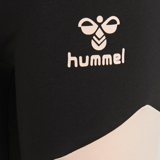 hmlZILLE TIGHTS, CLOUD PINK/BLACK, packshot