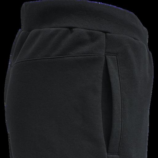 hmlAIDAN REGULAR PANTS, BLACK, packshot