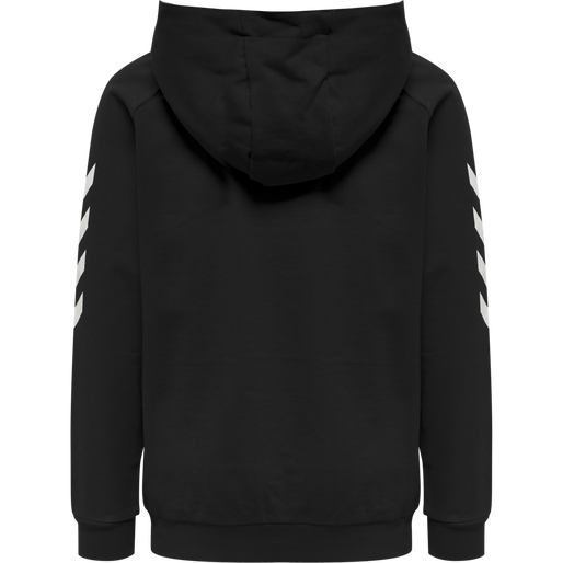 HUMMEL GO KIDS COTTON HOODIE, BLACK, packshot