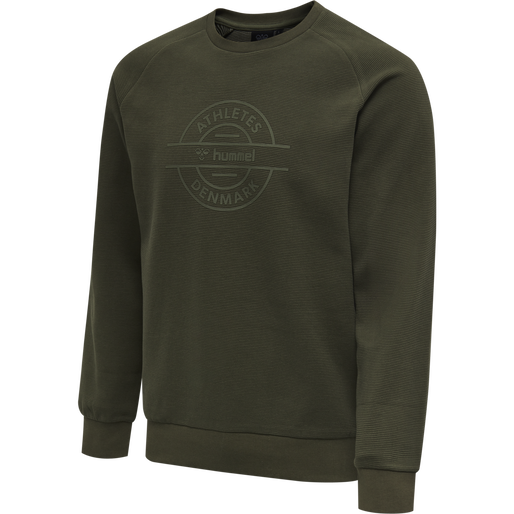 HMLDARE SWEAT SHIRT, FOREST NIGHT, packshot