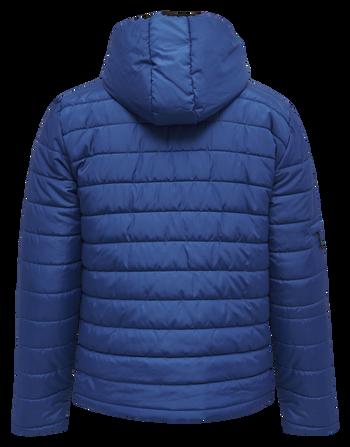 hmlNORTH QUILTED HOOD JACKET, TRUE BLUE, packshot