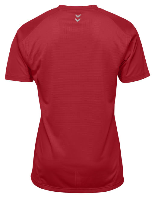 RUNNER SS TEE, TRUE RED, packshot