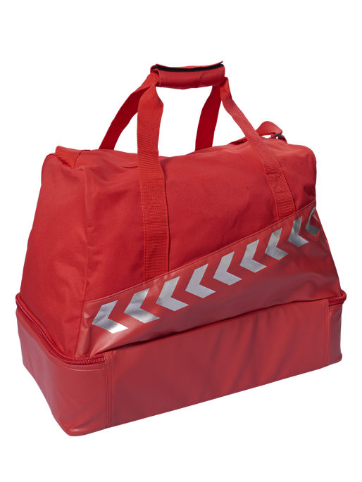 AUTHENTIC CHARGE SOCCER BAG, TRUE RED, packshot
