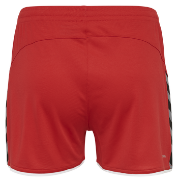 hmlAUTHENTIC POLY SHORTS WOMAN, TRUE RED, packshot