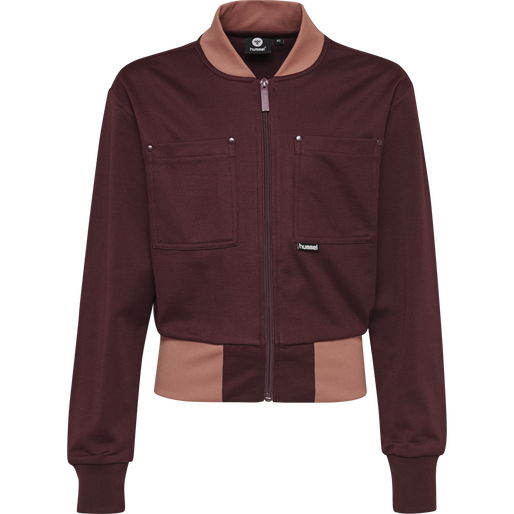 hmlNOTE ZIP JACKET, FIG, packshot