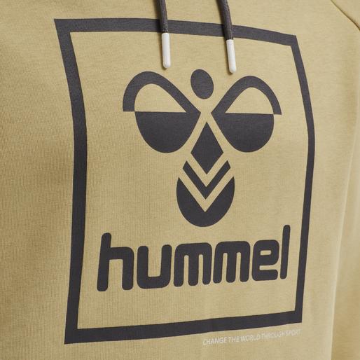 hmlISAM HOODIE, LARK, packshot