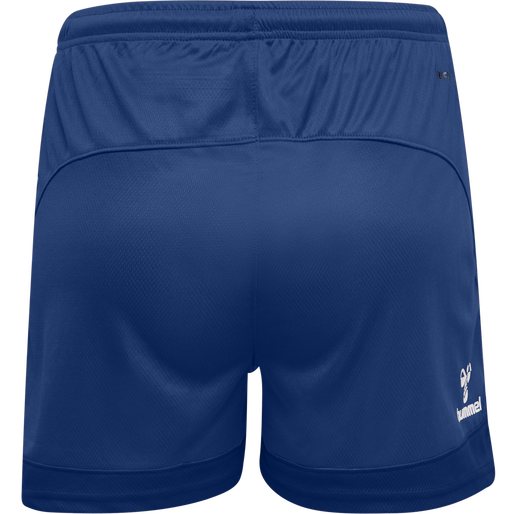 hmlLEAD WOMENS POLY SHORTS, TRUE BLUE, packshot
