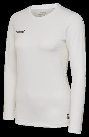 HUMMEL FIRST PERFORMANCE WOMEN JERSEY L/S, WHITE, packshot