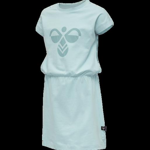 hmlTWILIGHT DRESS S/S, BLUE TINT, packshot