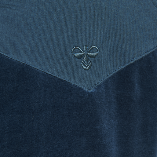 hmlVALDEZ ZIP JACKET, MAJOLICA BLUE, packshot