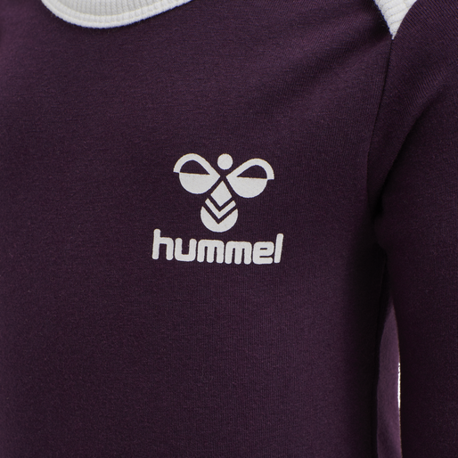 hmlMAUI BODY L/S, BLACKBERRY WINE, packshot