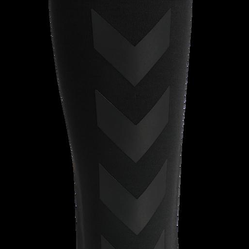 hmlESSI TAPERED PANTS, BLACK, packshot