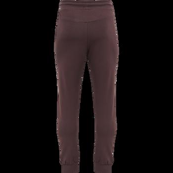 hmlISAM REGULAR PANTS, FUDGE/BLACK, packshot