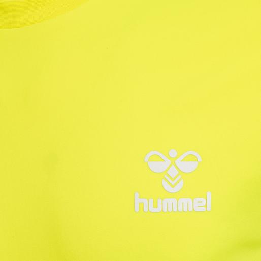 hmlEINO T-SHIRT S/S, SAFETY YELLOW, packshot