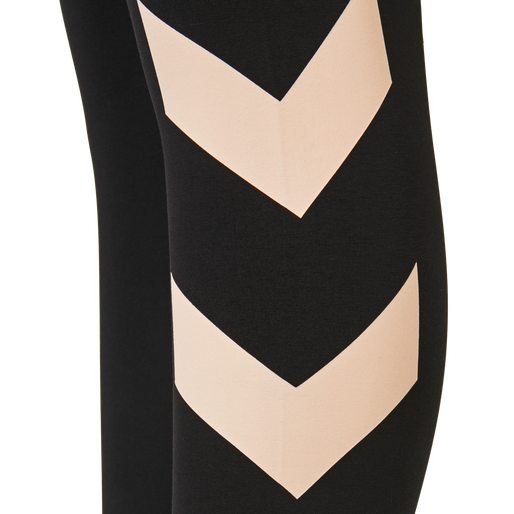 hmlSOMMER TIGHTS, CLOUD PINK/BLACK, packshot