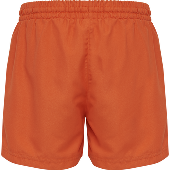 hmlBONDI BOARD SHORTS, MANDARIN RED, packshot