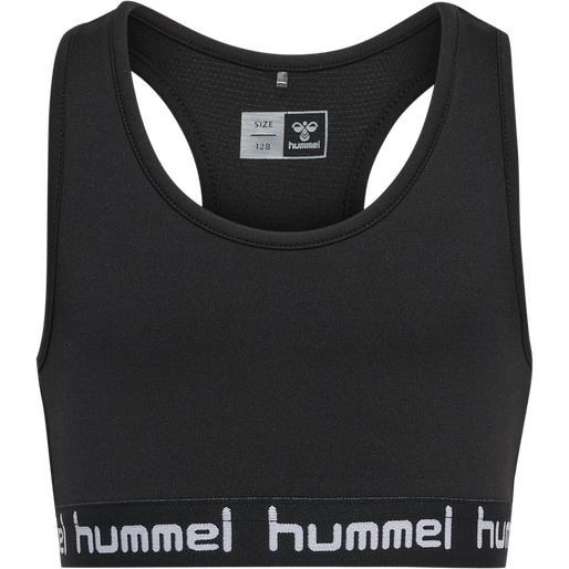 hmlMIMMI SPORTS TOP, BLACK, packshot