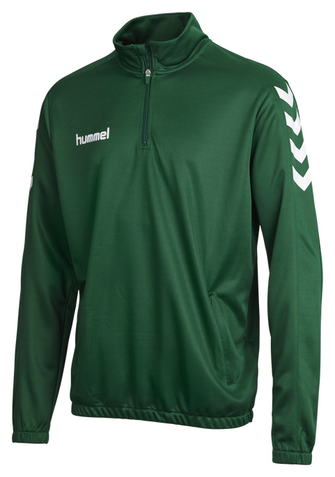 CORE 1/2 ZIP SWEAT, EVERGREEN, packshot