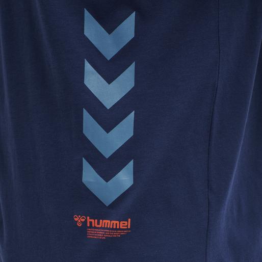 hmlPARSON T-SHIRT, MEDIEVAL BLUE, packshot