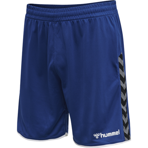 hmlAUTHENTIC POLY SHORTS, TRUE BLUE, packshot