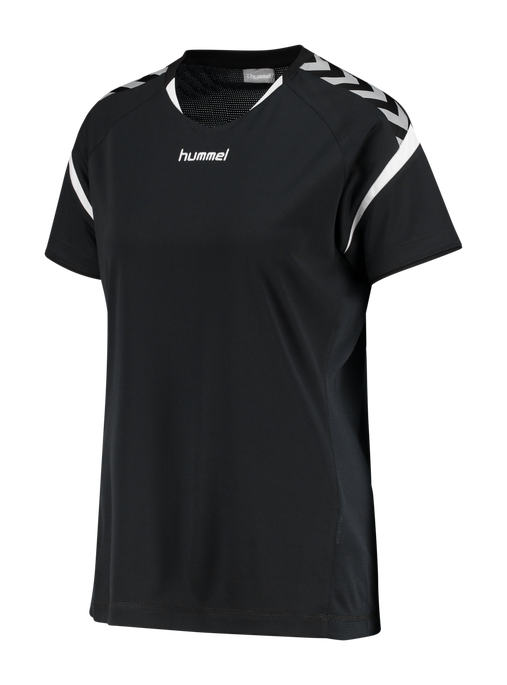 AUTHENTIC CHARGE SS POLY JERSEY WOMAN, BLACK, packshot
