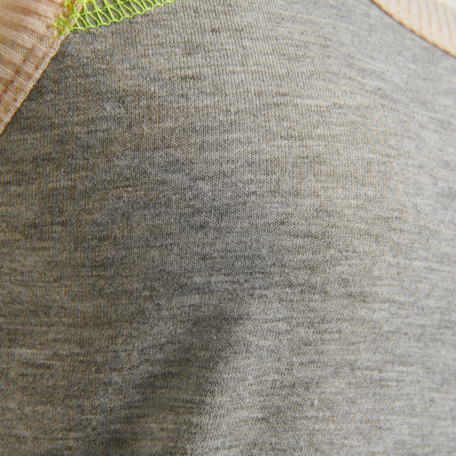 hmlHILL TOP, GREY MELANGE, packshot