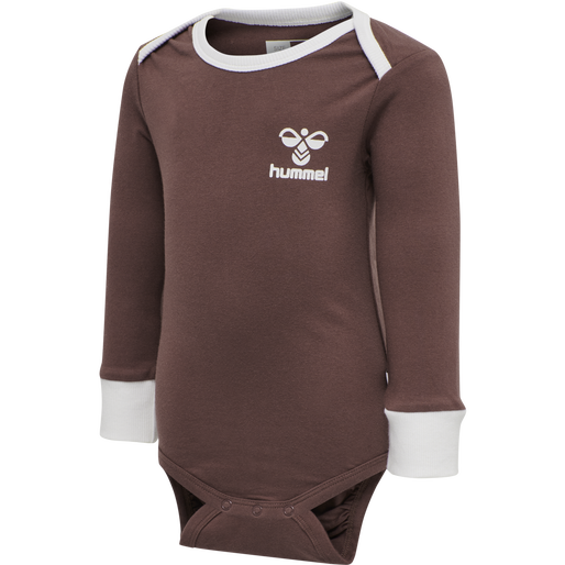 hmlMAUI BODY L/S, MARRON, packshot