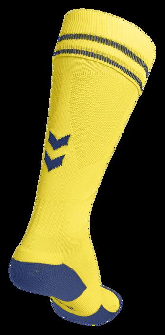 ELEMENT FOOTBALL SOCK , SPORTS YELLOW/TRUE BLUE, packshot