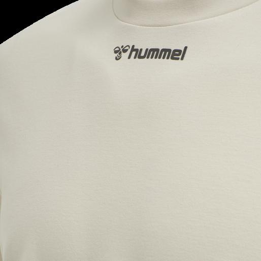 hmlMAKSIM LOOSE SWEATSHIRT, BONE WHITE, packshot