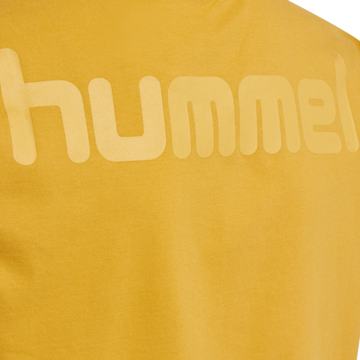 hmlPETER T-SHIRT S/S, GOLDEN ROD, packshot