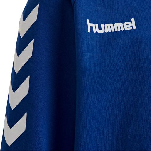 HUMMEL GO KIDS COTTON SWEATSHIRT, TRUE BLUE, packshot