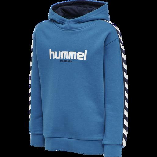 hmlTAKAO HOODIE, BLUE SAPPHIRE, packshot