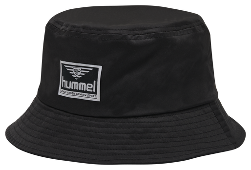 hmlVEJR HAT, BLACK, packshot