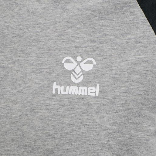 hmlMARK T-SHIRT S/S, GREY MELANGE, packshot
