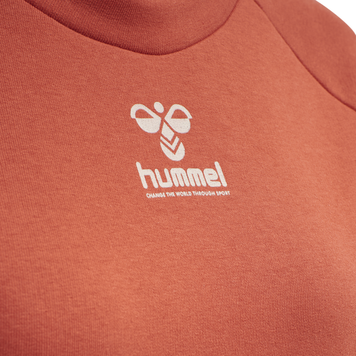 hmlNONI SWEATSHIRT, CHILI, packshot