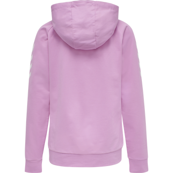 HUMMEL GO COTTON ZIP HOODIE WOMAN, ORCHID, packshot
