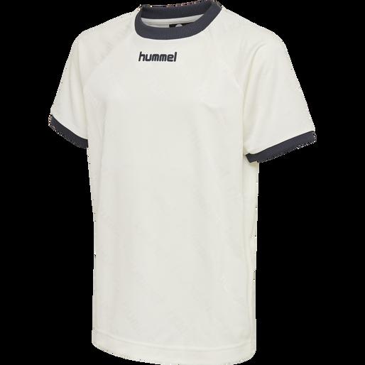 hmlLUCAS T-SHIRT S/S, WHISPER WHITE, packshot