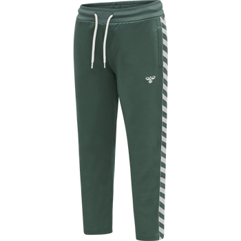 HMLKICK PANTS, MALLARD GREEN, packshot