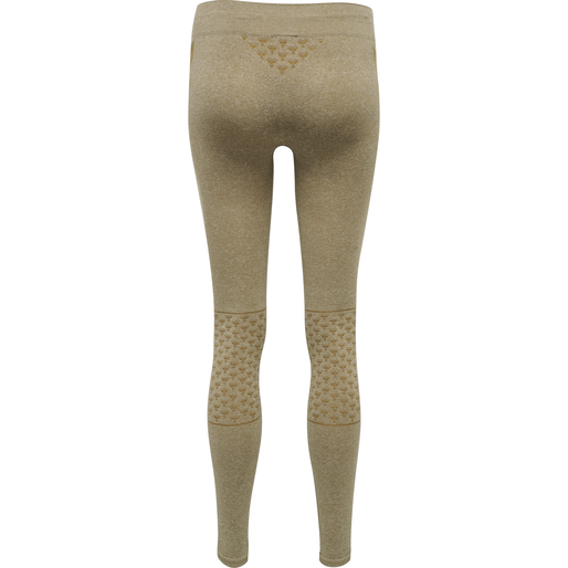 CLASSIC BEE CI SEAMLESS TIGHTS, ANTIQUE BRONZE MELANGE, packshot