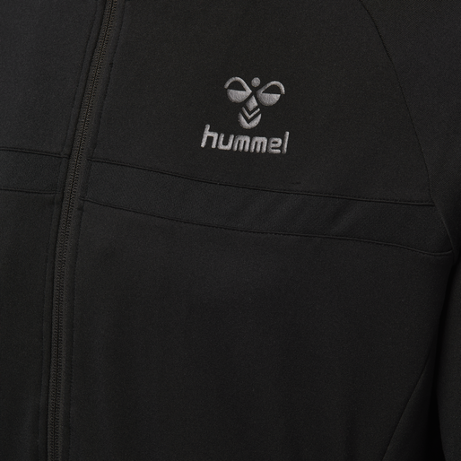 HMLJAMES ZIP JACKET, BLACK, packshot