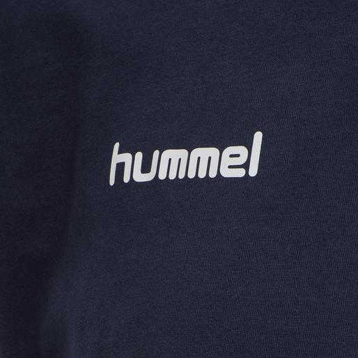 HUMMEL GO COTTON T-SHIRT S/S, !MARINE, packshot