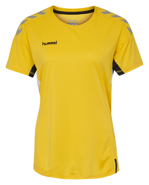 TECH MOVE JERSEY WOMAN S/S, SPORTS YELLOW, packshot