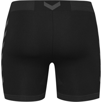 HUMMEL FIRST SEAMLESS KIDS 3/4 TIGHTS, BLACK, packshot