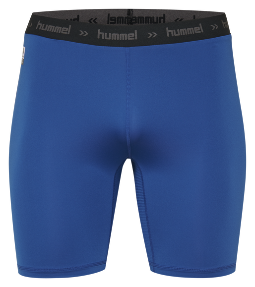 HUMMEL FIRST PERFORMANCE KIDS TIGHT SHORTS, TRUE BLUE, packshot